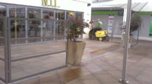 Reinigung Bodenfläche